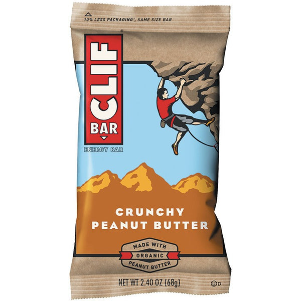 Clif Bar Crunchy Peanut Butter 68g - Essentially Health Online Vegan Health Store Afterpay