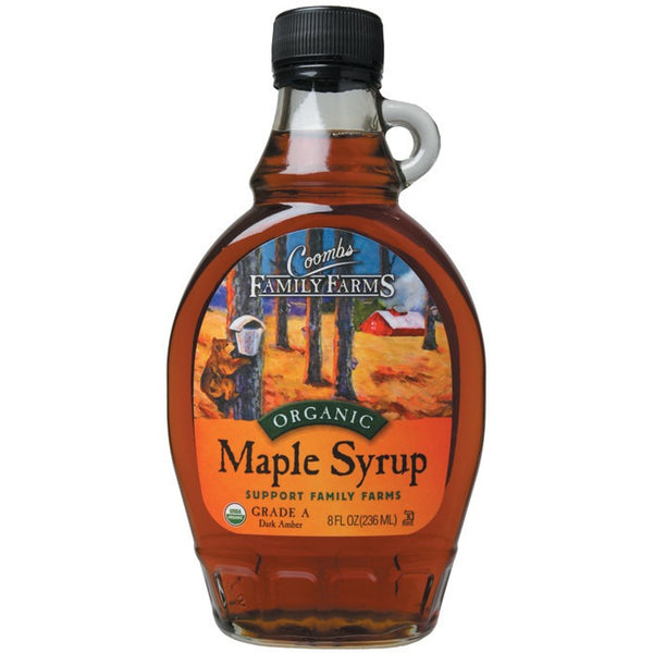 Coombs Family Farms Maple Syrup Grade A 236ml - Essentially Health Online Vegan Health Store Afterpay