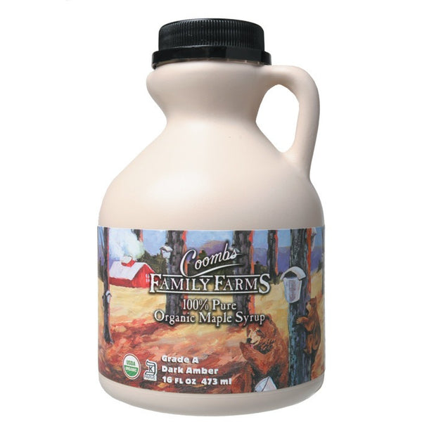 Coombs Family Farms Maple Syrup Grade A 473ml - Essentially Health Online Vegan Health Store Afterpay