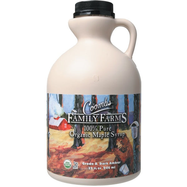 Coombs Family Farms Maple Syrup Grade A 946ml - Essentially Health Online Vegan Health Store Afterpay