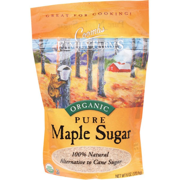 Coombs Family Farms Maple Sugar 100% Pure 170g - Essentially Health Online Vegan Health Store Afterpay