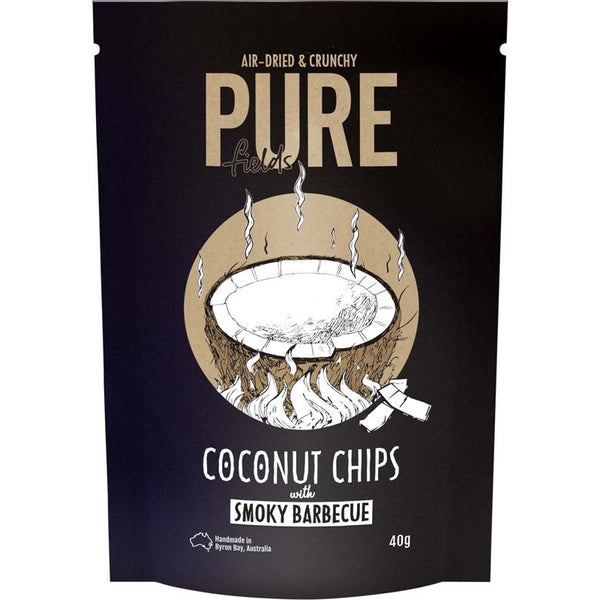 Pure Fields - Coconut Chips With Smoky Barbecue 40g