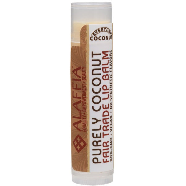 Alaffia Lip Balm Purely Coconut 4.25g - Essentially Health Online Vegan Health Store Afterpay