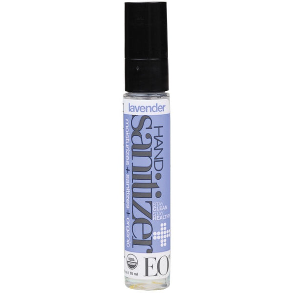 EO Lavender Hand Sanitizer Spray 10ml - Essentially Health Online Vegan Health Store