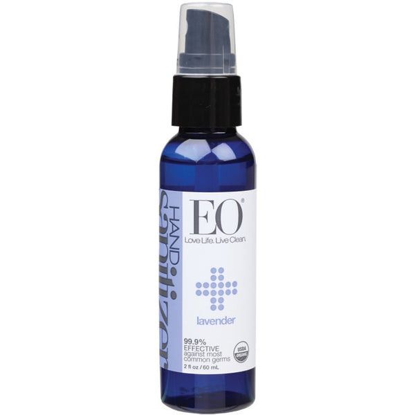 EO Lavender Hand Sanitizer Spray 60ml - Essentially Health Online Vegan Health Store