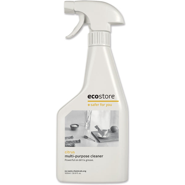 Ecostore Spray Cleaner Citrus 500ml - Essentially Health Online Vegan Health Store