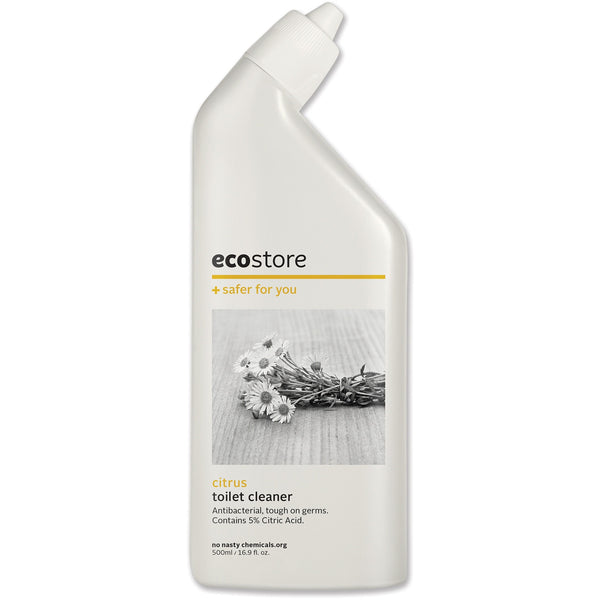 Ecostore Toilet Cleaner Citrus 500ml - Essentially Health Online Vegan Health Store