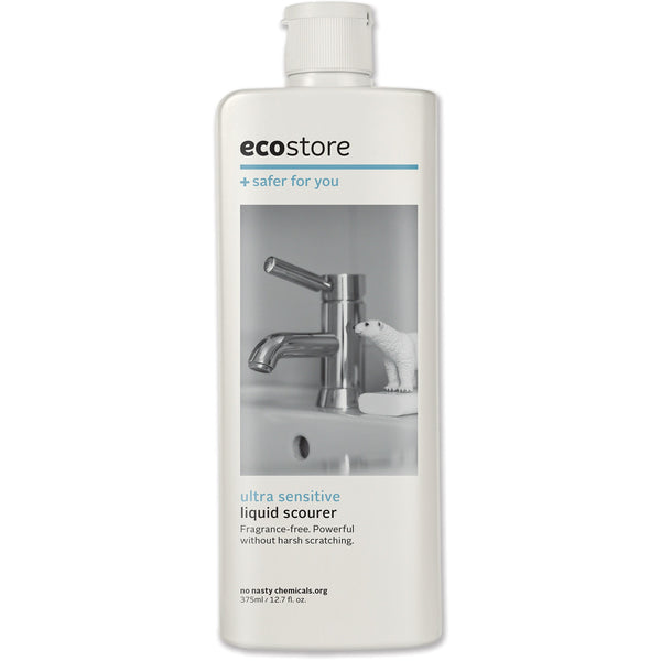 Ecostore Cream Cleanser Unscented 375ml - Essentially Health Online Vegan Health Store
