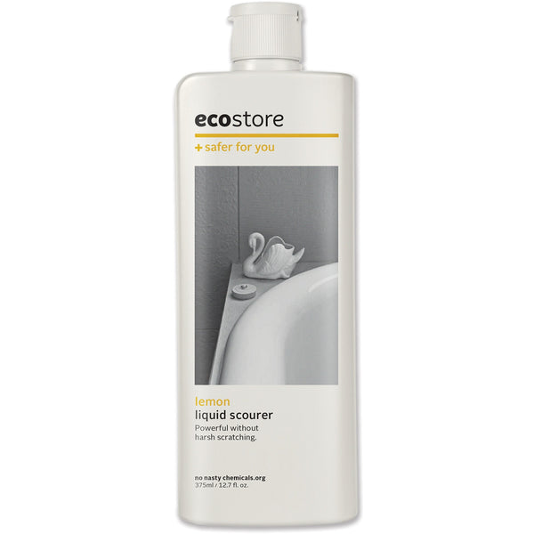 Ecostore Cream Cleanser Lemon 375ml - Essentially Health Online Vegan Health Store