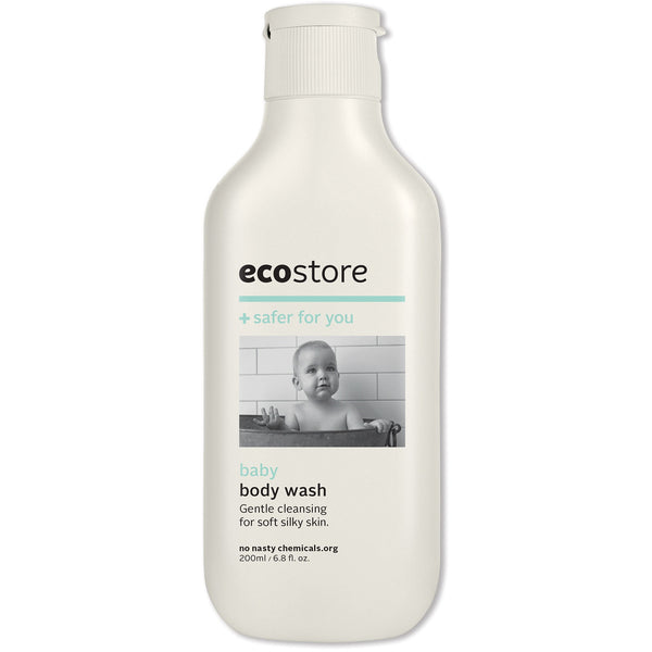 Ecostore Baby Body Wash 200ml - Essentially Health Online Vegan Health Store Afterpay