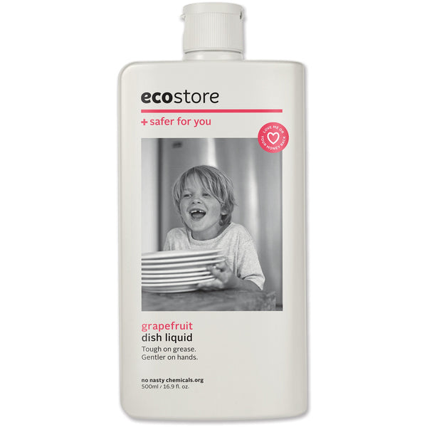 Ecostore Dishwash Liquid Grapefruit 500ml - Essentially Health Online Vegan Health Store Afterpay