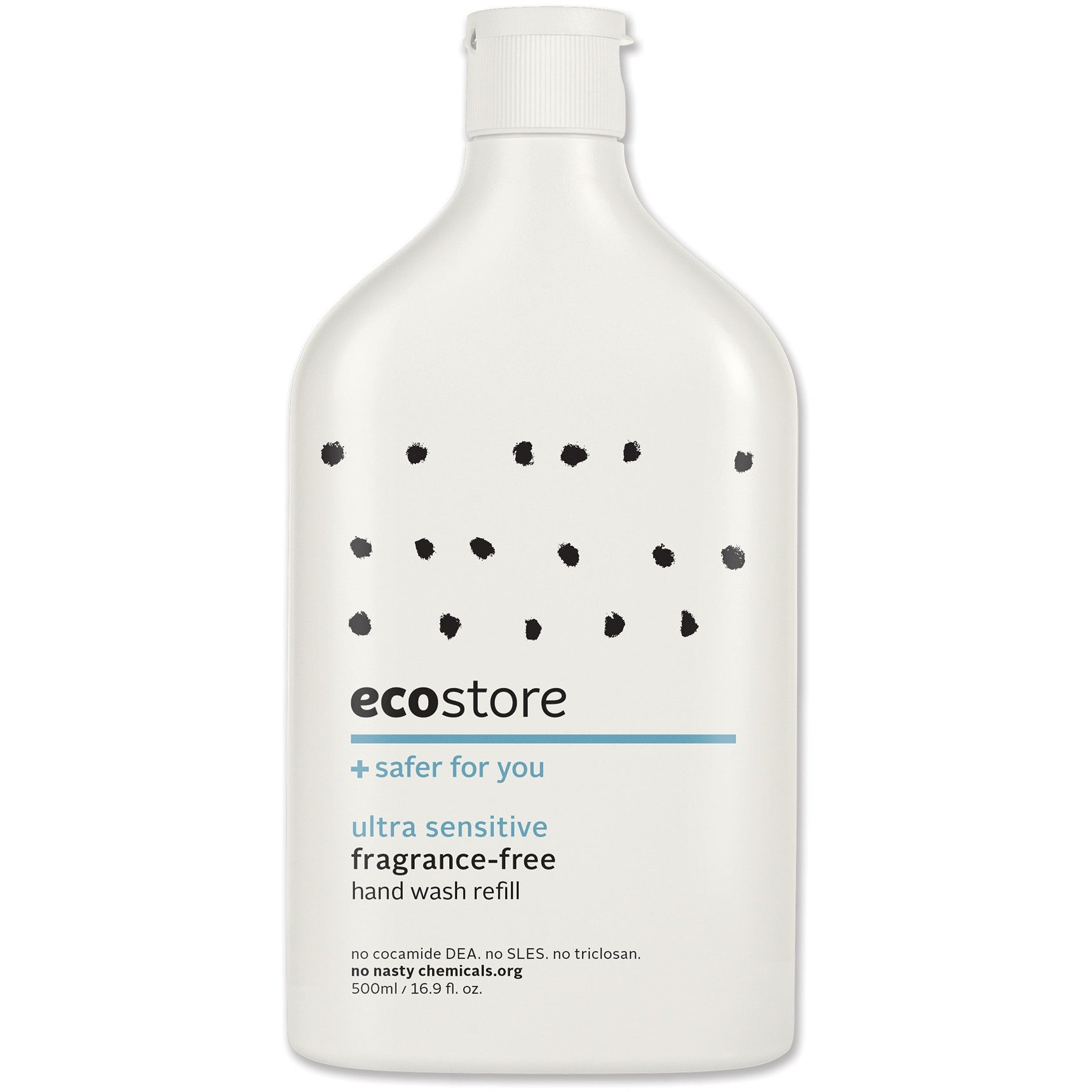 Ecostore Fragrance Free Hand Wash (Refill) 500ml - Essentially Health Online Vegan Health Store