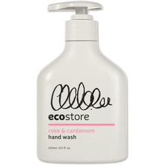 Ecostore Rose & Cardamon Hand Wash 250ml - Essentially Health Online Vegan Health Store