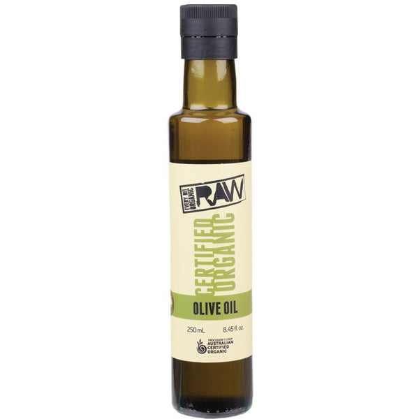 Every Bit Organic Raw Olive Oil Cold Press - Extra Virgin 250ml - Essentially Health Online Vegan Health Store
