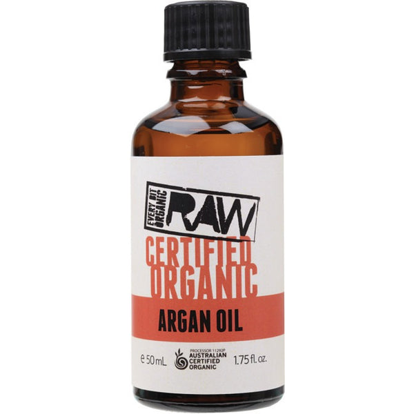 Every Bit Organic Raw Argan Oil  50ml - Essentially Health Online Vegan Health Store