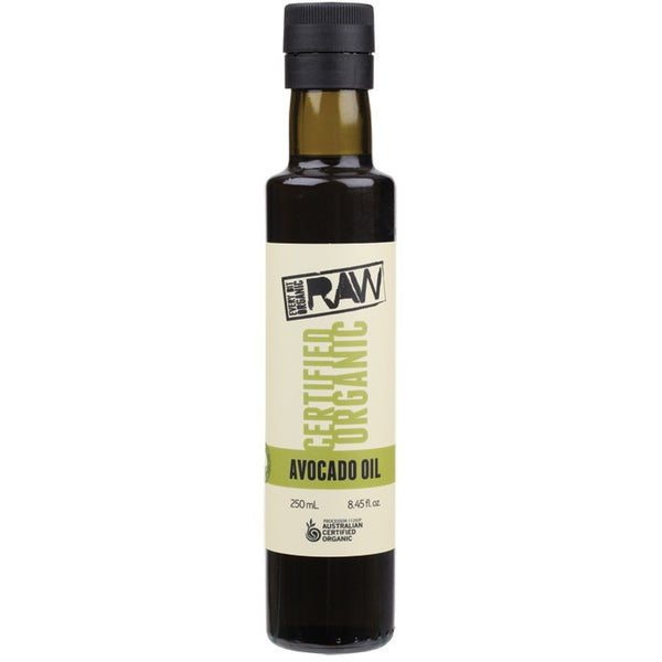 Every Bit Organic Raw Avocado Oil Cold Pressed & Extra Virgin 250ml - Essentially Health Online Vegan Health Store