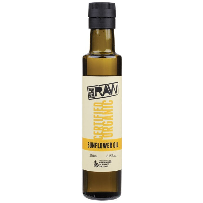 Every Bit Organic Raw Sunflower Oil Unrefined 250ml - Essentially Health Online Vegan Health Store Afterpay