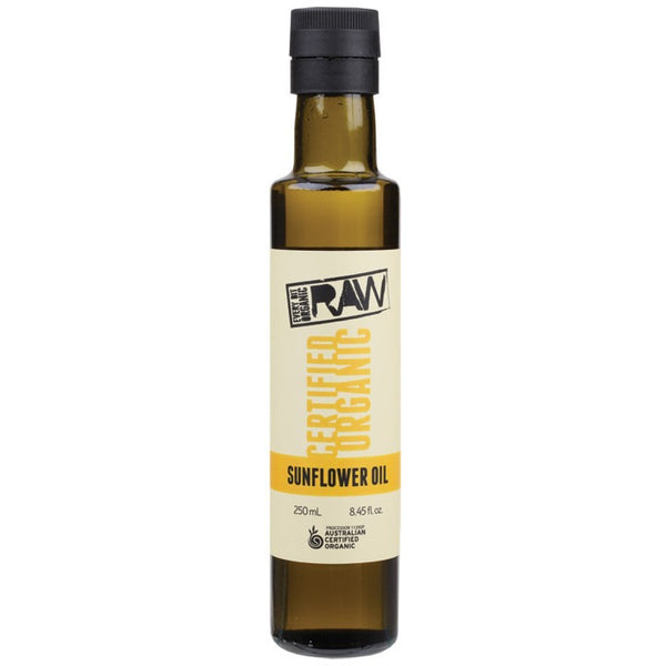 Every Bit Organic Raw Sunflower Oil Unrefined 250ml - Essentially Health Online Vegan Health Store