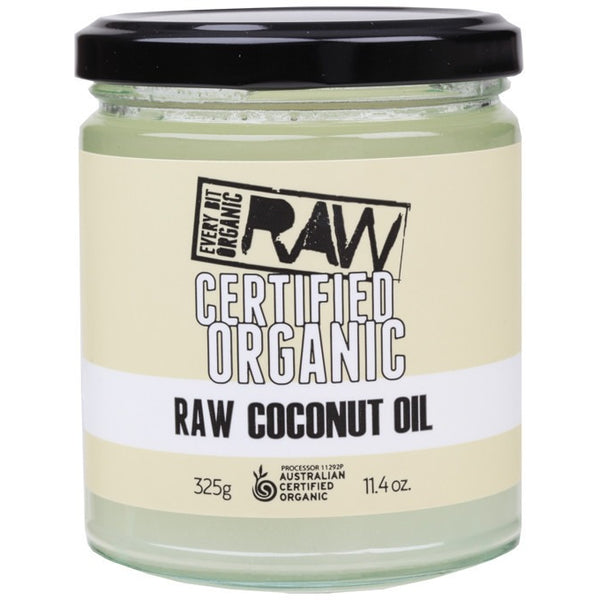 Every Bit Organic Raw Coconut Oil 325g - Essentially Health Online Vegan Health Store