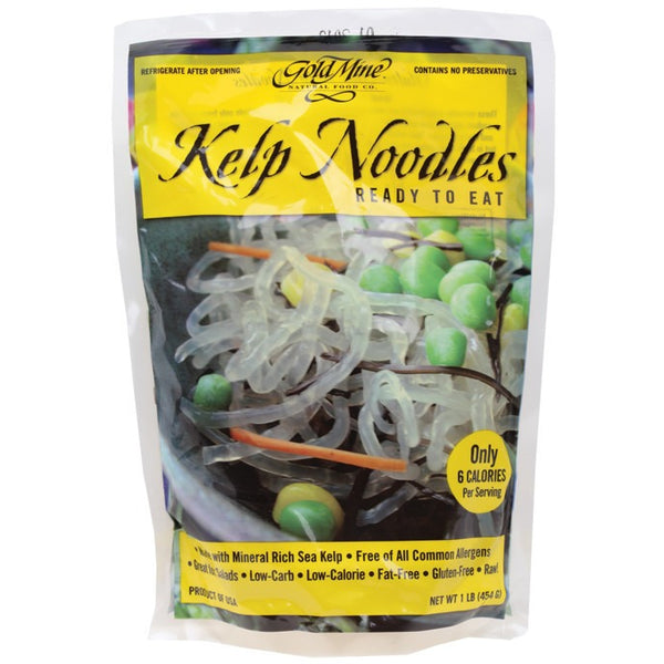 Gold Mine Kelp Noodles Raw 454g - Essentially Health Online Vegan Health Store Afterpay