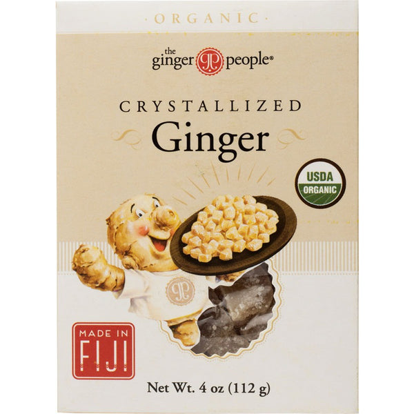The Ginger People Crystallised Ginger - 112g - Essentially Health Online Vegan Health Store Afterpay