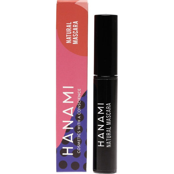Hanami Vegan Natural Mascara Black 8g - Essentially Health Online Vegan Health Store