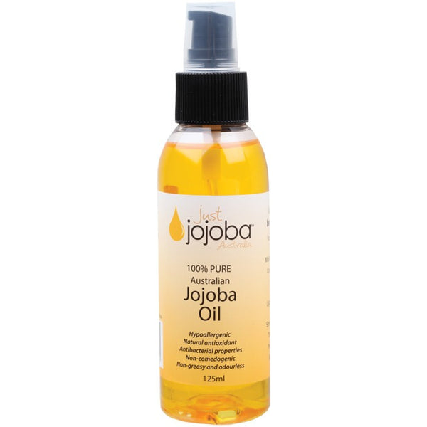 Just Jojoba Australia Jojoba Oil Pure Australian Jojoba 125ml - Essentially Health Online Vegan Health Store