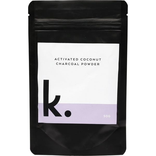 Keeko Activated Coconut Charcoal Powder 50g - Essentially Health Online Vegan Health Store
