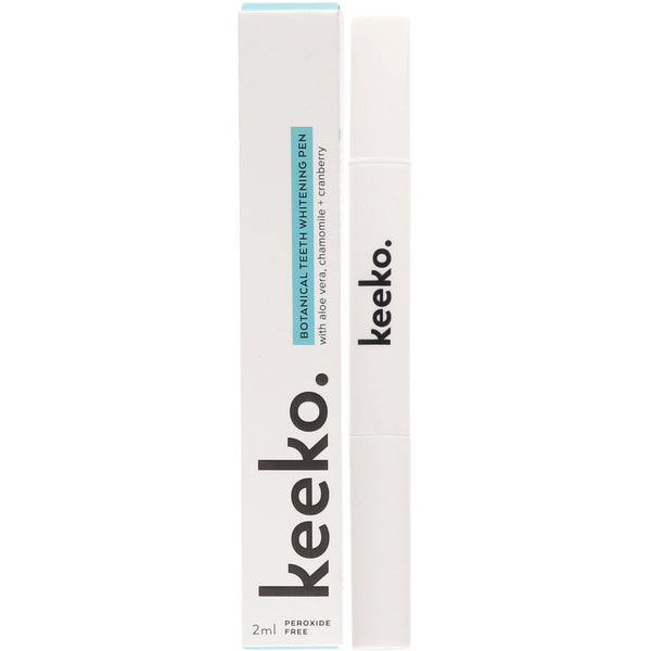 Keeko Botanical Teeth Whitening Pen - Essentially Health Online Vegan Health Store