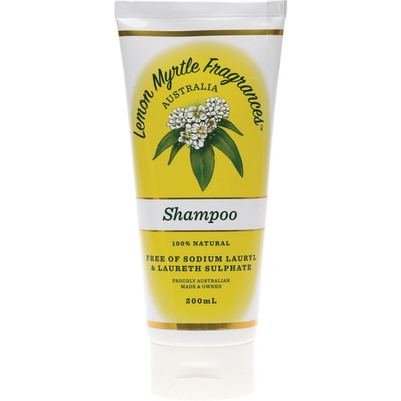 Lemon Myrtle Fragrances Shampoo Lemon Myrtle 200ml - Essentially Health Online Vegan Health Store