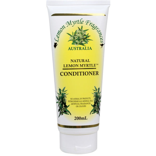 Lemon Myrtle Fragrances Conditioner Lemon Myrtle 200ml - Essentially Health Online Vegan Health Store
