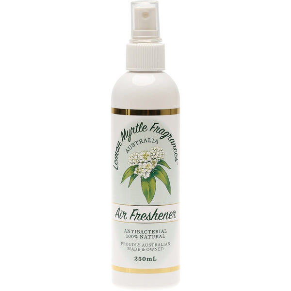 Lemon Myrtle Fragrances Air Freshener Lemon Myrtle 250ml - Essentially Health Online Vegan Health Store