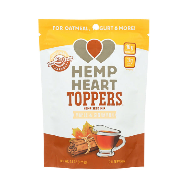 Manitoba Harvest Hemp Heart Toppers Maple & Cinnamon 125g