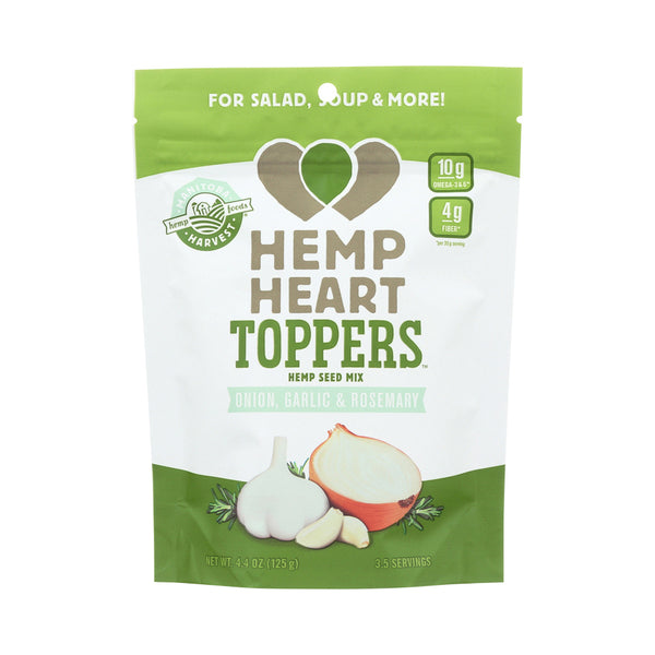 Manitoba Harvest Hemp Heart Toppers Onion, Garlic & Rosemary 125g
