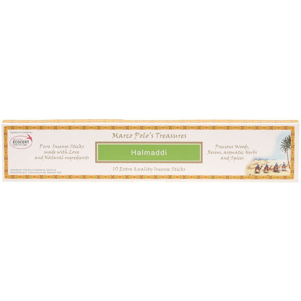 Marco Polo's Treasures Incense Sticks Halmadi x 10 - Essentially Health Online