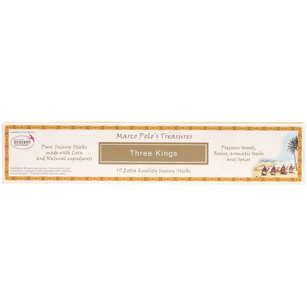 Marco Polo's Treasures Incense Sticks Three Kings x 10 - Essentially Health Online