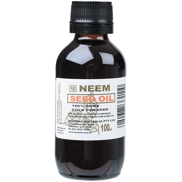 Neeming Australia Neem Seed Oil 100% Pure & Cold Pressed 130ml - Essentially Health Online Vegan Health Store