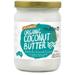 Niulife Creamed Coconut  500g - Essentially Health Online Vegan Health Store