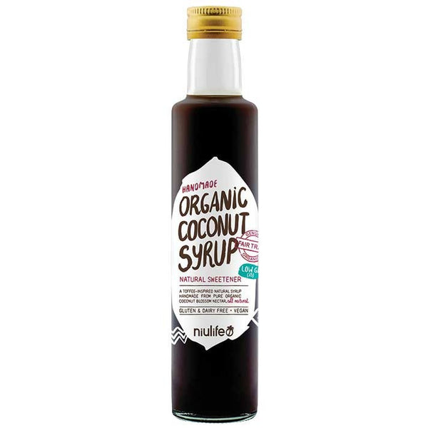 Niulife Coconut Syrup  250ml - Essentially Health Online Vegan Health Store Afterpay