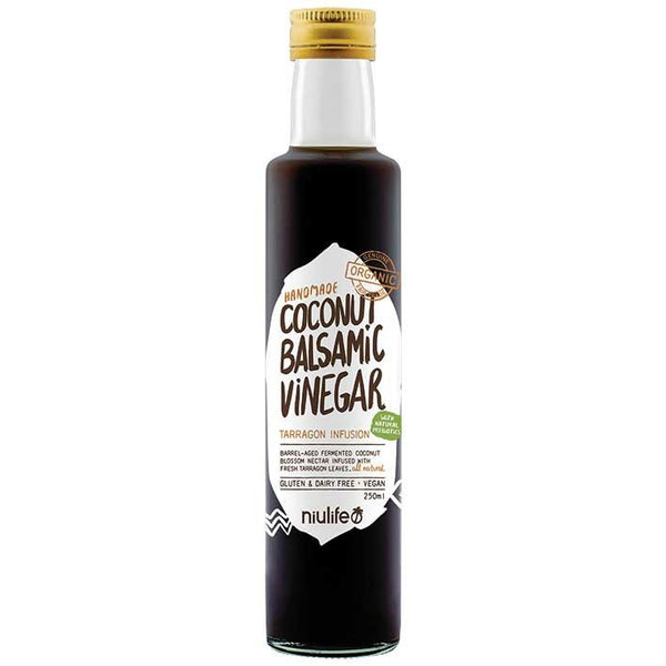 Niulife Coconut Balsamic Vinegar  250ml - Essentially Health Online Vegan Health Store Afterpay
