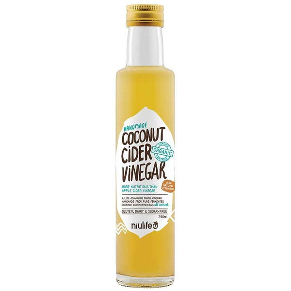 Niulife Coconut Vinegar  250ml - Essentially Health Online Vegan Health Store Afterpay