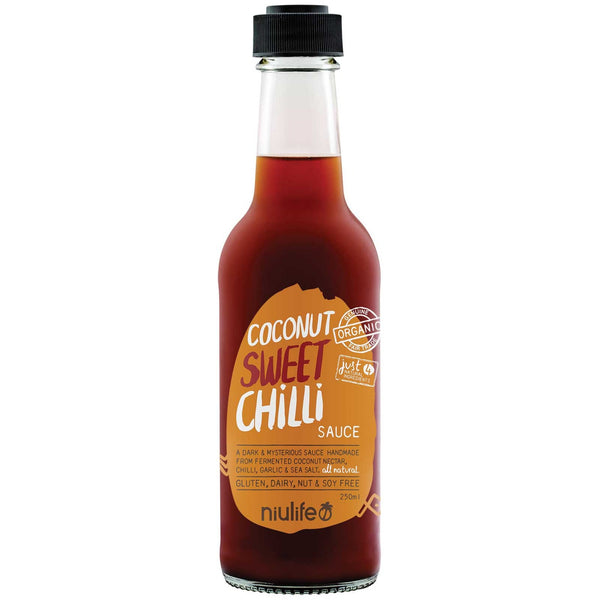 Niulife Coconut Sweet Chilli Sauce  250ml - Essentially Health Online Vegan Health Store Afterpay