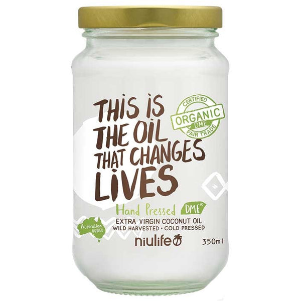 Niulife Extra Virgin Coconut Oil  350g - Essentially Health Online