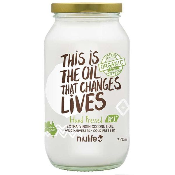 Niulife Extra Virgin Coconut Oil  720g - Essentially Health Online