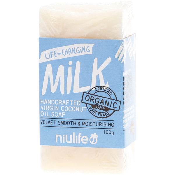 Niulife Coconut Milk Soap 100g - Essentially Health Online Vegan Health Store Afterpay