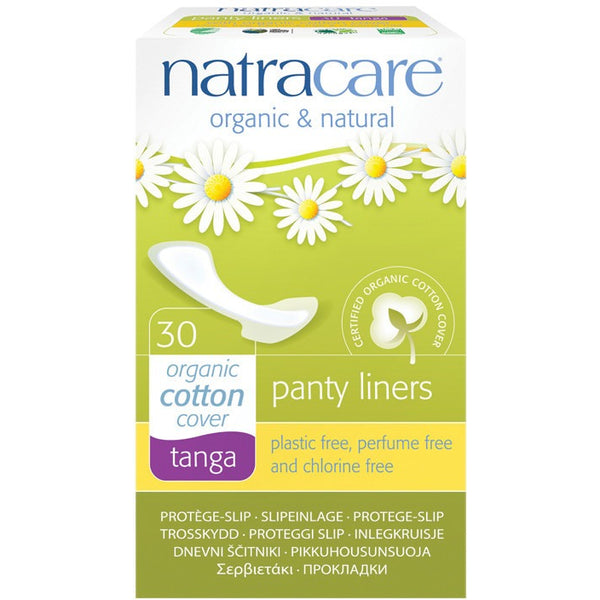 Natracare Panty Liners Tanga (30 pack) - Essentially Health Online Vegan Health Store
