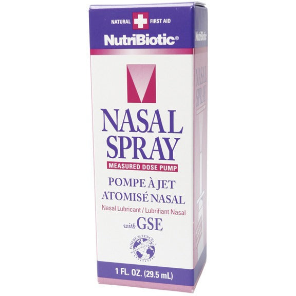 Nutribiotic Nasal Spray Pump 29.5ml - Essentially Health Online Vegan Health Store