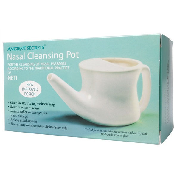 Ceramic Neti Pot - Essentially Health Online Vegan Health Store Afterpay