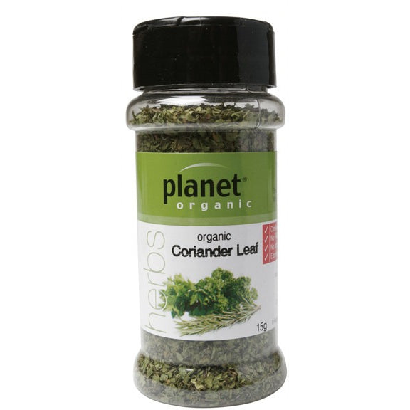 Planet Organic Herbs Coriander Leaf 15g - Essentially Health Online Vegan Health Store