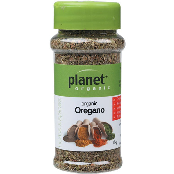Planet Organic Herbs Oregano 15g - Essentially Health Online Vegan Health Store